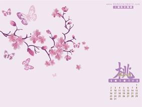 2014 3月桌布